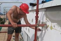 Některé panelové domy nejsou obývány pouze lidmi. Na hranickém sídlišti Hromůvka v nich žijí i zákonem chránění rorýsi.