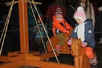 Hranické náměstí patřilo v sobotu Pohádkovým Vánocům.  Hranické náměstí patřilo v sobotu Pohádkovým Vánocům.