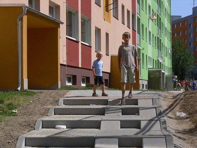 Rekonstruované sídliště Hromůvka