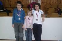 Všichni tři zúčastnění judisté se proprali až do finále