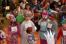 Karneval v hranické školce na Šromotově náměstí