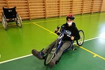 Paralympijský školní den ve  Střední škole, Základní škole a Mateřské škole Lipník nad Bečvou, Osecká 301.