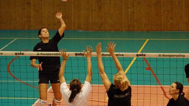 Přerovské volejbalistky nacvičovaly s rakouským extraligovým Lincem nový styl hry.