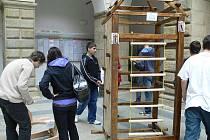 Prezentační výstava závěrečných prací studentů Střední průmyslové školy, nábytkářského a dřevařského oboru