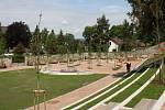 Zrekonstruovaná zámecká zahrada v Hranicích