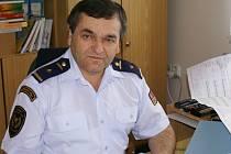 Zástupce ředitele Hasičského záchranného sboru v Přerově Jaroslav Symerský.