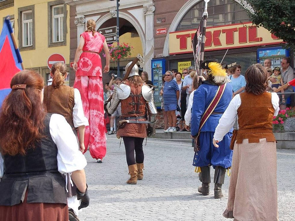 Svatovavřinecké hody v Přerově: historický průvod a jarmark