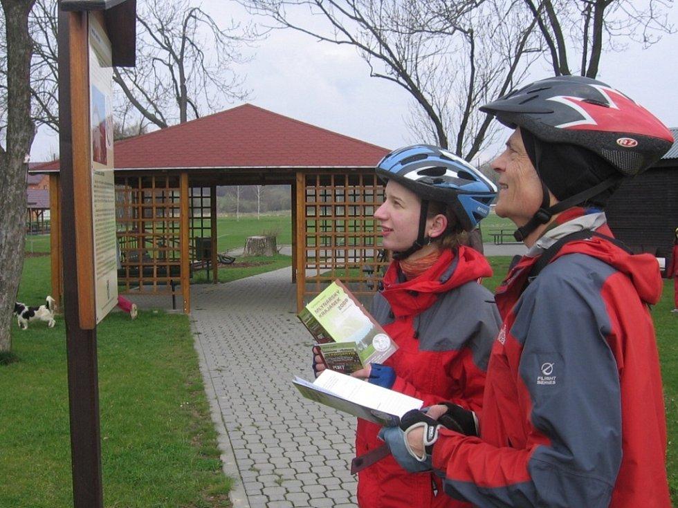 Cyklovýlet vedl i přes Ústí.