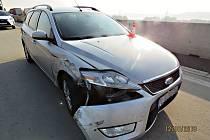 Nehoda se stala 12. října v 8.40 hodin na 298. kilometru dálnice D1 u Lipníku nad Bečvou