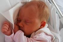 Simonka Regerová, Bystřice pod Hostýnem, narozena 29. srpna 2011 v Přerově, míra 49 cm, váha 2 990 g
