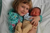 Kryštof Spáčil, Loučka, narozen 23. listopadu 2009 v Přerově, míra 53 cm, váha 3 700 g