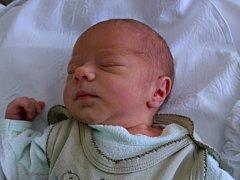 Oliver Čechmánek, Tovačov, narozen dne 6. května 2013 v Přerově, míra: 50 cm, váha: 3333 g