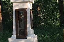 Neznámý zloděj ukradl sošku Ježíše z jeden rok zrekonstruovaných drahotušských Božích muk.