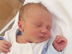 Tobias Motal, Přerov – Lýsky, narozen dne 5. dubna 2014 v Přerově, míra: 50 cm, váha: 3 490 g
