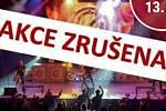 Páteční koncert v Zámeckém klubu v Hranicích je zrušen.