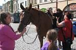 Barevný den a Den bez aut na Masarykově náměstí v Hranicích