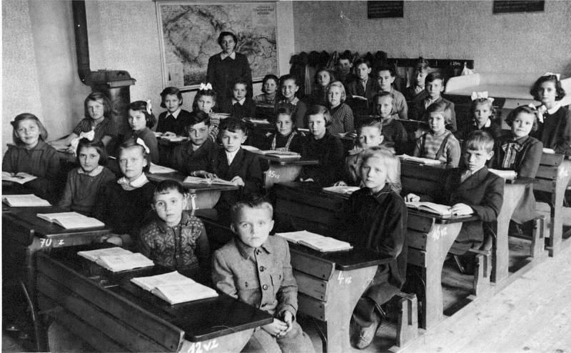 Ze školních lavic v Ústí.
