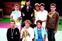 Judisté Femaxu Hranice získali na Velké ceně Olomouce pohár pro nejlepší tým turnaje.