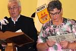 Odhalení památníku usmíření Čechů a Němců v Polomi na Hranicku