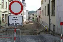 Poslední částí historického jádra města, která čekala na opravu, byla Svatopukova ulice.