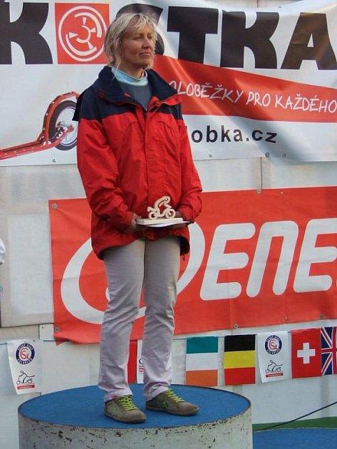 Čtyři zlaté z ME v koloběhu si přivezla Ivana Dvořáková.