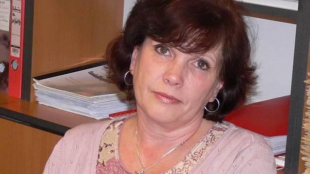 Místostarostka Hranic Pavla Tvrdoňová