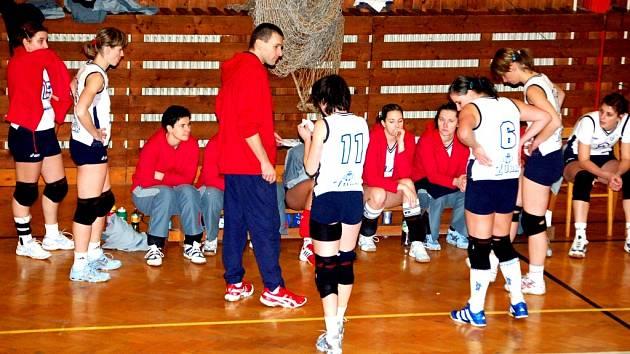 Přerov sice prohrál první utkání, ale i nadále zůstává v čele finálové skupiny.