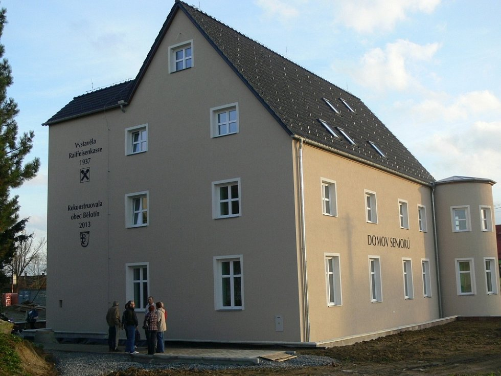 Nový Domov seniorů v Bělotíně