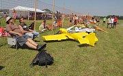 Hranické polétání na letišti v Drahotuších