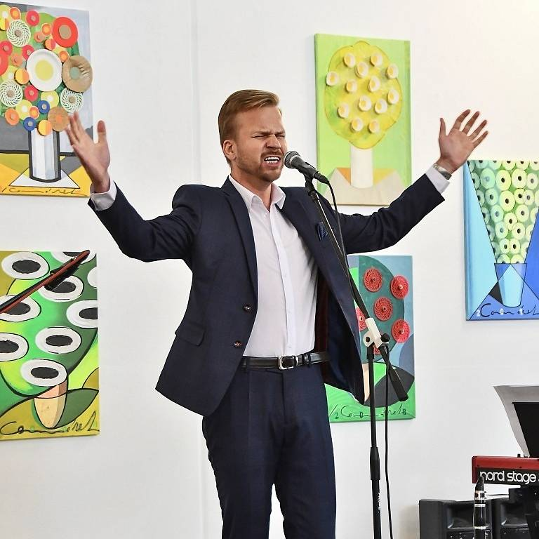 Martin Chodúr vystoupil v rámci Dnů evropského dědictví v hranické Synagoze.