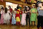 Děti si na karnevalu užily spoustu soutěží