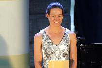 Triatlonistka Simona Křivánková  - vyhlášení Nejúspěšnějšího sportovce Hranic za rok 2019