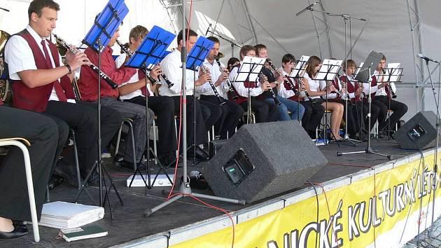 Velký dechový orchestr uzavřel Hranické kulturní léto