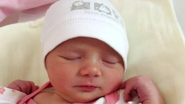 Thea Biová, Oldřichov, narozena dne 4. prosince 2014 v Přerově, míra: 49 cm, váha: 2820 g