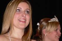 Patnáctiletá Hana Hegarová z Hranic se stala vítězkou Oblastního kola Dívka roku 2007 v Mikulově.