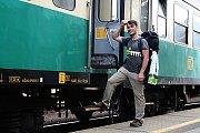 Tomík na cestách vyrazil na svou několikaměsíční výpravu do Bangkoku a zpět.