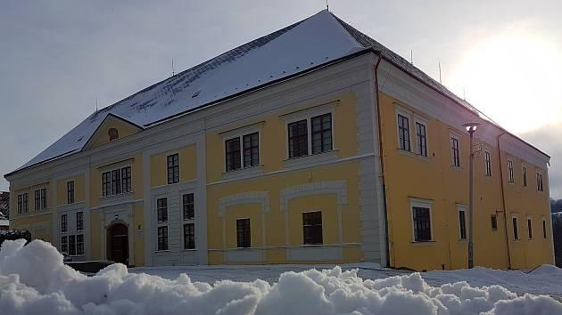 Potštátský zámek v roce 2018