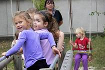 Děti ze školky Klíček v Hranicích