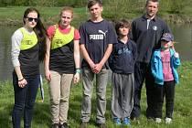 Kaonisté z KVS Hranice si z Kojetína přivezli čtyři cenné medaile z druhého kola Velkomoravské ligy. Foto: archiv KVS Hranice
