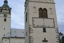 Zvonice je typickou dominantou Lipníku nad Bečvou.