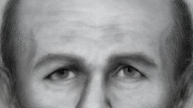 Portrét vytvořený podle antropologických znaků.