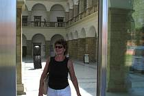 Do hranického zámku už od úterý 25. srpna vcházejí lidé novými dveřmi na čidlo.