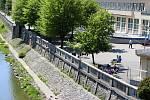 Lázně Teplice nad Bečvou. Lázeňská kolonáda.