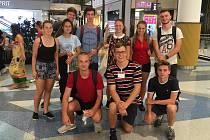 Studenti Střední zdravotnické školy Hranice vyhráli Den Evropy 2019.