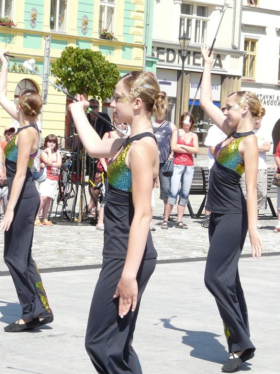 Velká zábavná akce, na které děti vítaly léto, se uskutečnila v sobotu 28. června na hranickém náměstí.