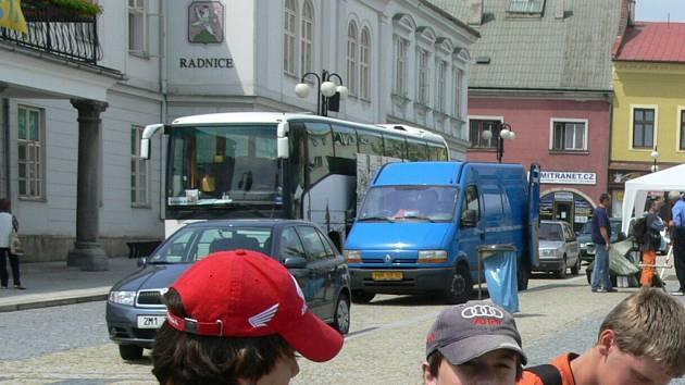 Radnice v Lipníku nad Bečvou.