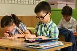 První den ve škole na Základní škole Šromotovo v Hranicích