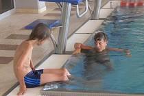 Na hranické plovárně se denně koupe pět set lidí.