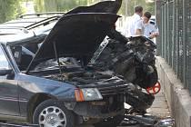 K vážné nehodě došlo u parku Michalov v Přerově, jsou tři zranění, z toho dvě děti.