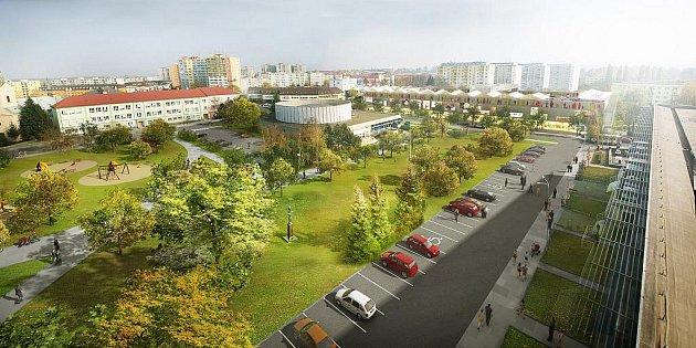 Náměstí Přerovského povstání by se podle zastupitelů mohlo vbudoucnu zklidnit a vcentru města by vznikla ojedinělá klidová zóna.